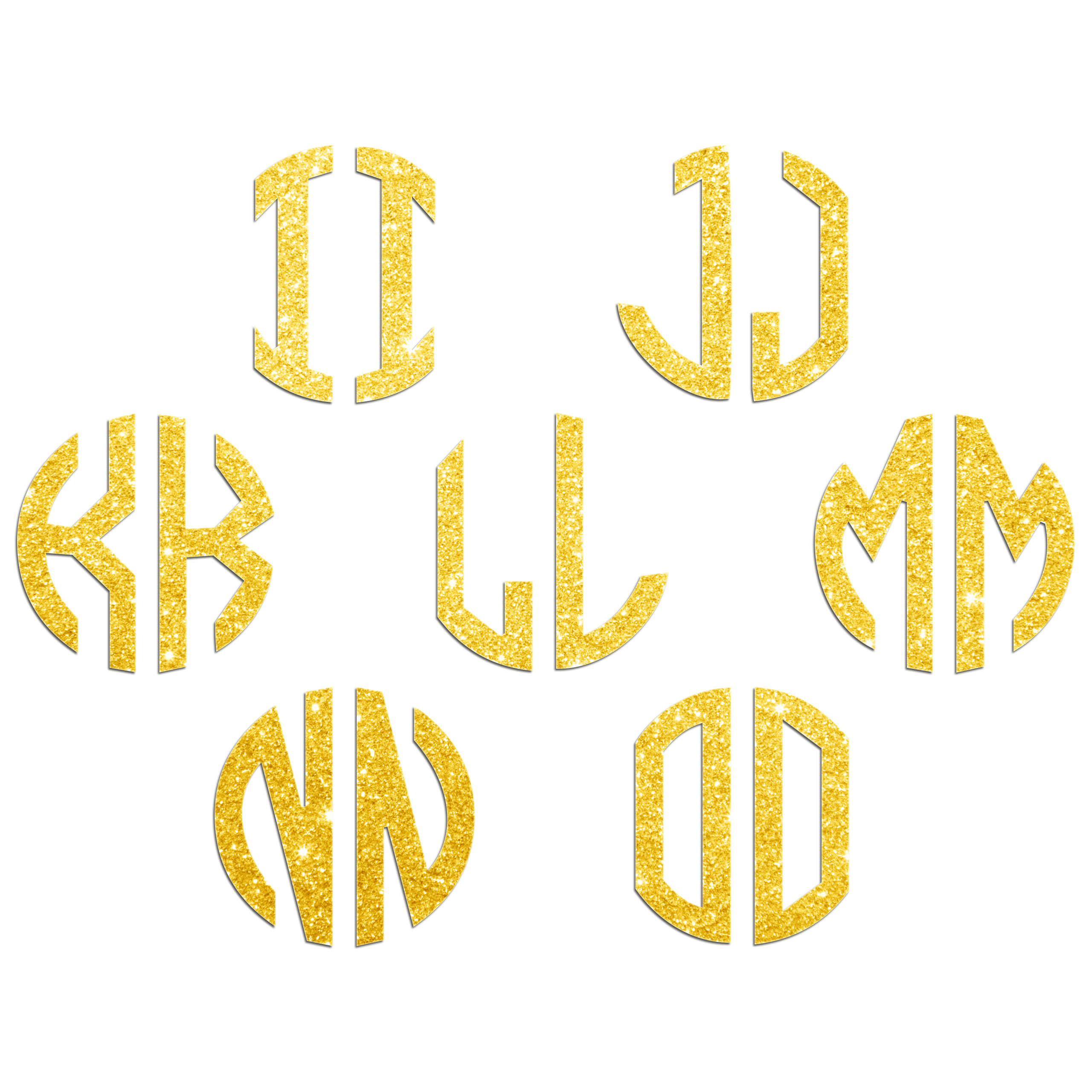 JasonCarlMorgan-JCM-Graphics-Personalised-Initials-Monogram-Sticker thumbnail 23