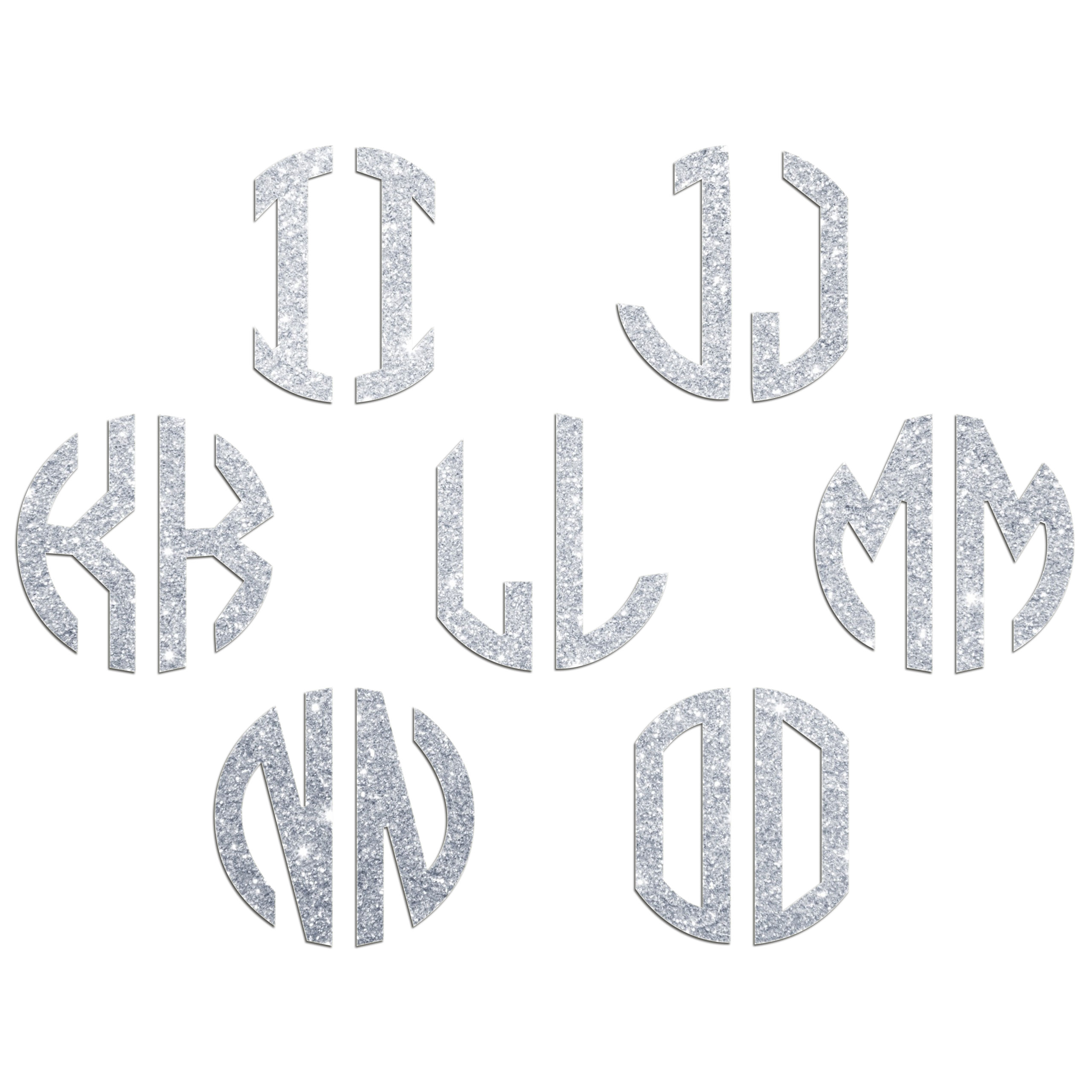 JasonCarlMorgan-JCM-Graphics-Personalised-Initials-Monogram-Sticker thumbnail 31