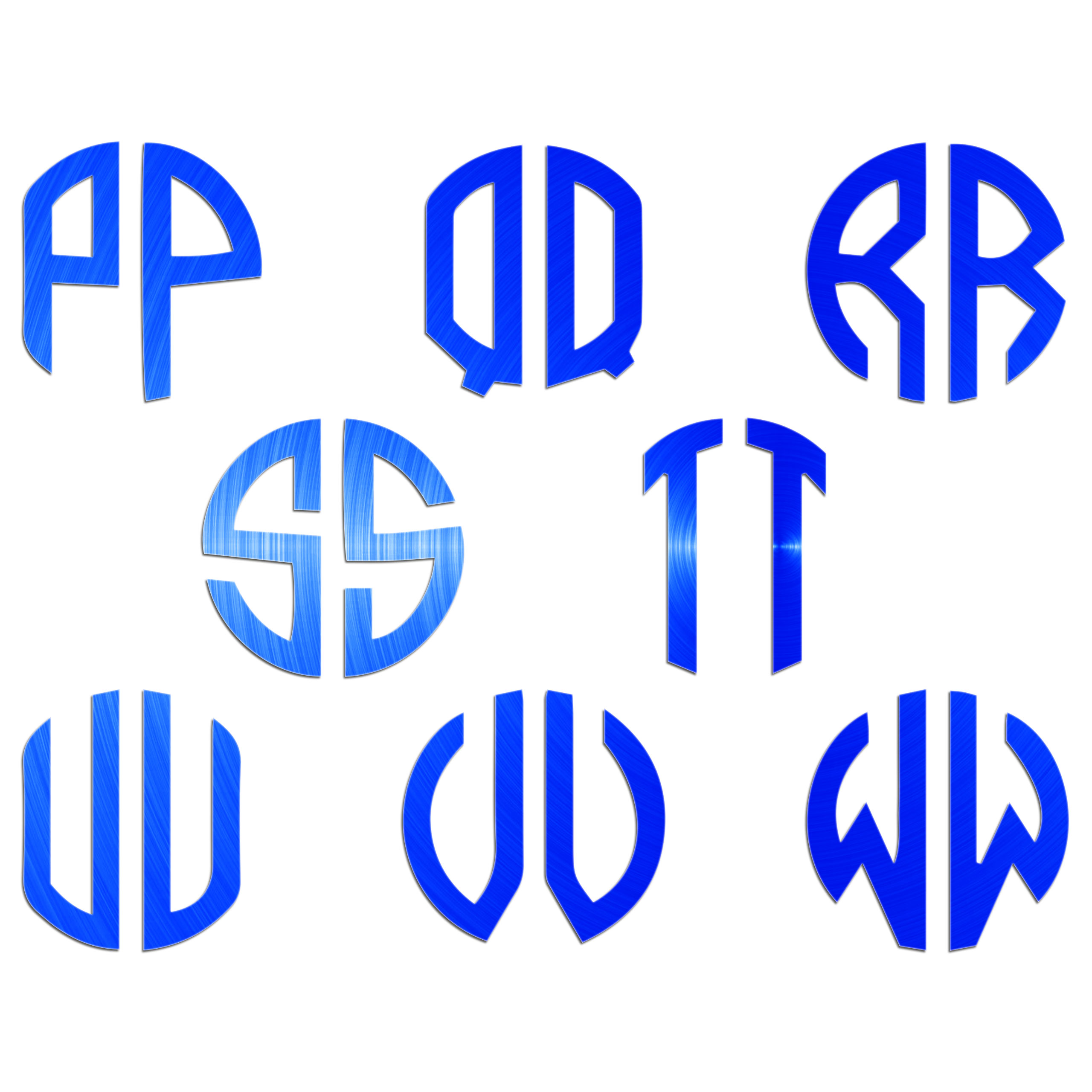 JasonCarlMorgan-JCM-Graphics-Personalised-Initials-Monogram-Sticker thumbnail 12