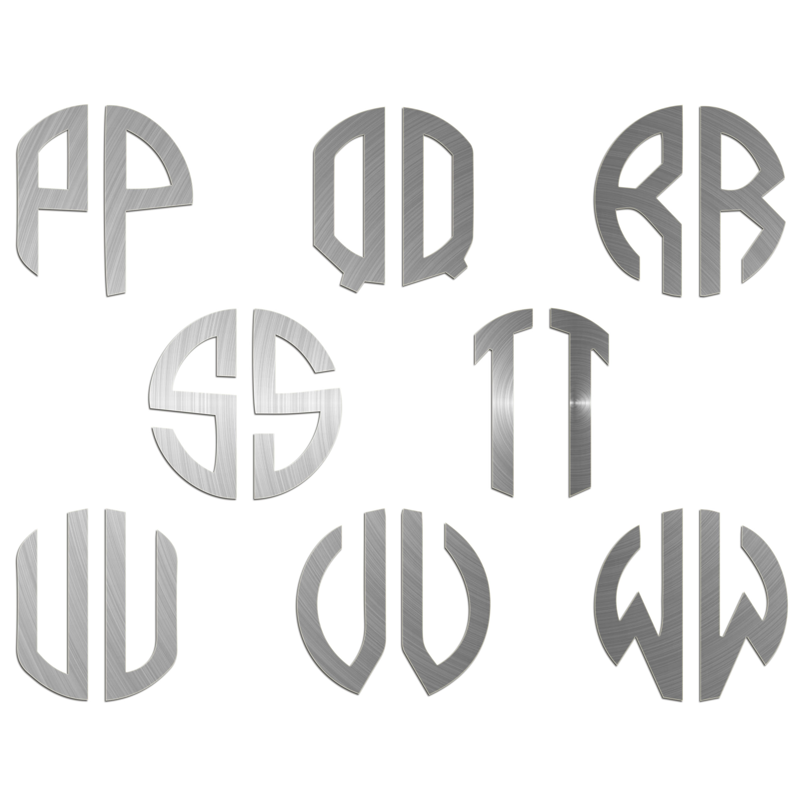 JasonCarlMorgan-JCM-Graphics-Personalised-Initials-Monogram-Sticker thumbnail 20