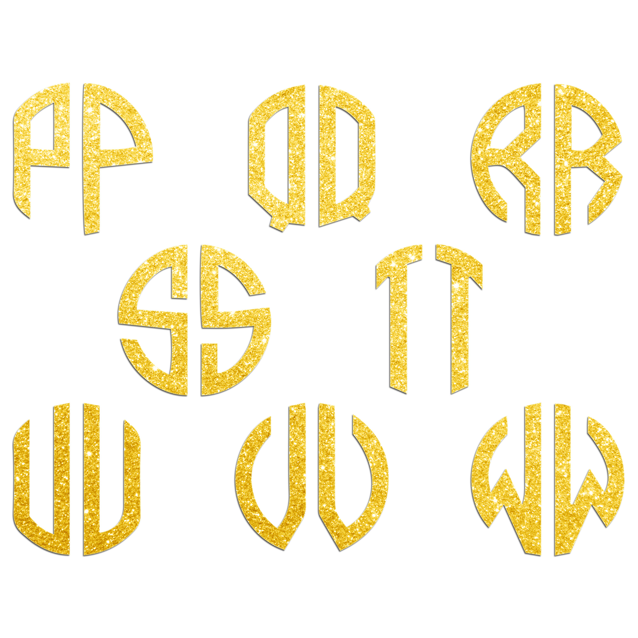 JasonCarlMorgan-JCM-Graphics-Personalised-Initials-Monogram-Sticker thumbnail 24